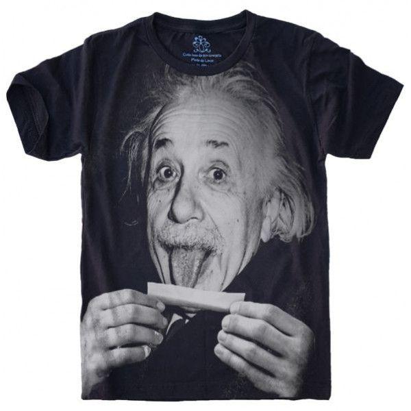 1fb6d59dc Camiseta Einstein Lingua S-426