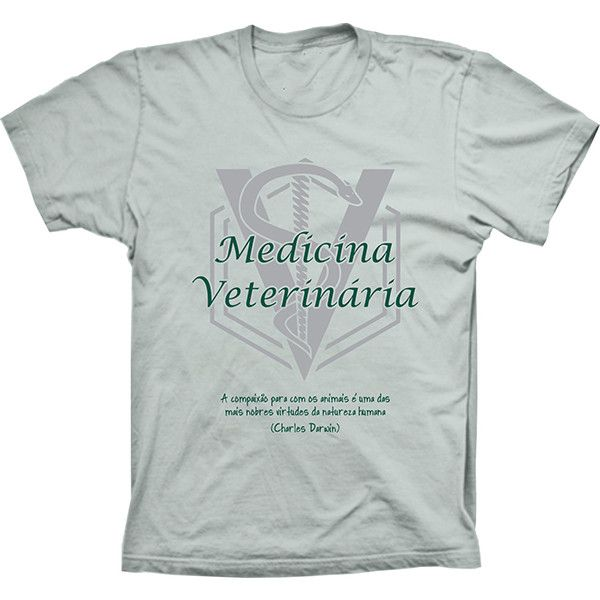 Camiseta Medicina Veterinária