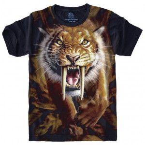 Camiseta Tigre Dente de Sabre S-464