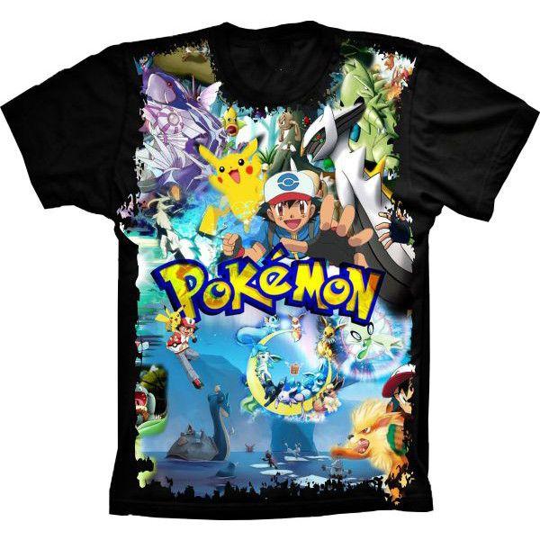 Camiseta Pokémon Mundo