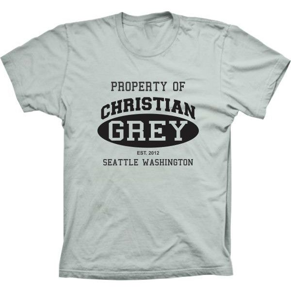 Camiseta Property Christian Grey