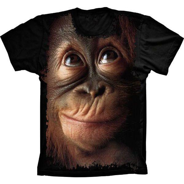 Camiseta Macaco Chimpanzé