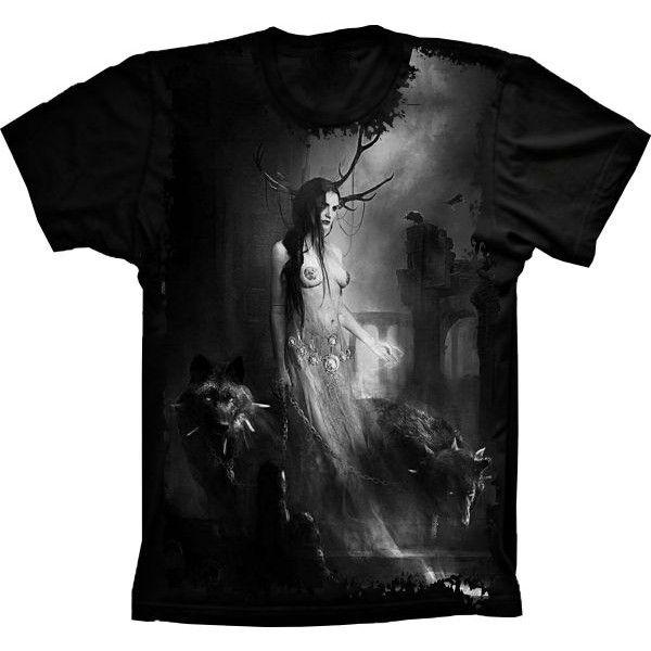 Camiseta Woman Wolf