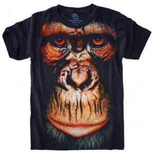 Camiseta Macaco Face Monkey S-447