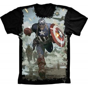 Camiseta Capitão América
