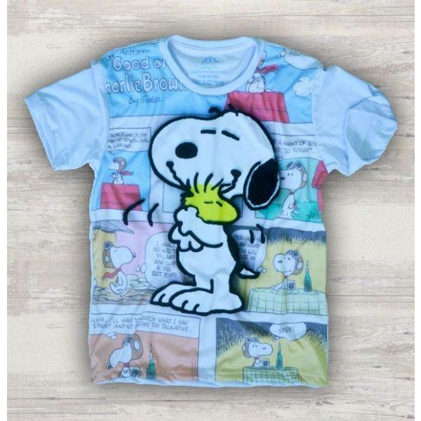 Camiseta Snoopy Peanuts S-417 d263406ce43