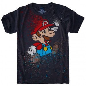 Camiseta Super Mario Bros S-456
