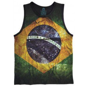 Regata Bandeira Brasil Flag REG-22