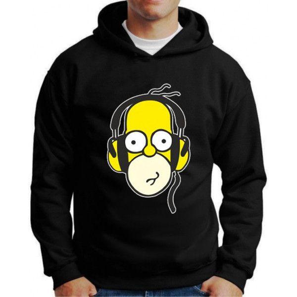 Moletom Homer Simpson Fone