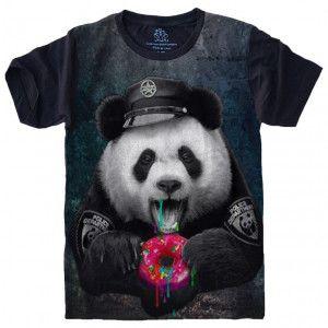 Camiseta Urso Panda Donuts S-475