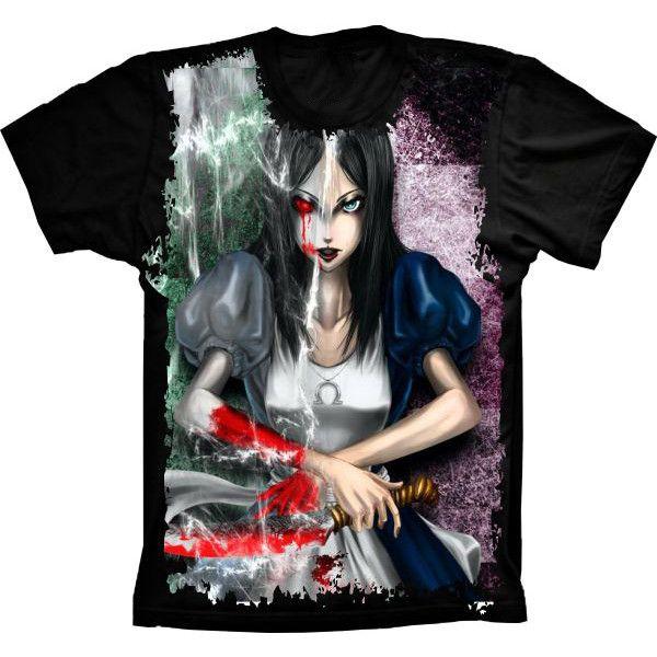 Camiseta Gótica Dupla