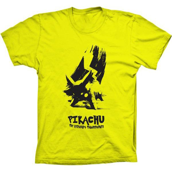 Camiseta Pokemon Pikachu