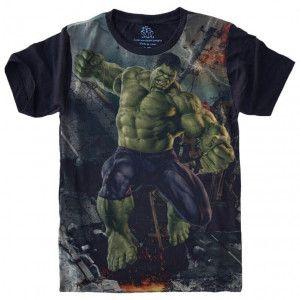 Camiseta Hulk S-460