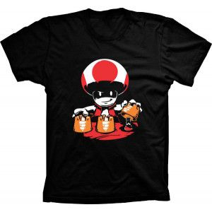 Camiseta Super Mario Up Magico