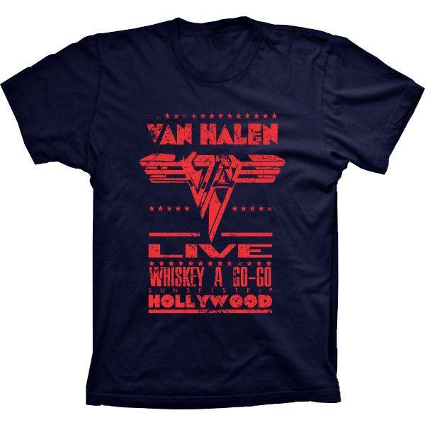 Camiseta Van Halen
