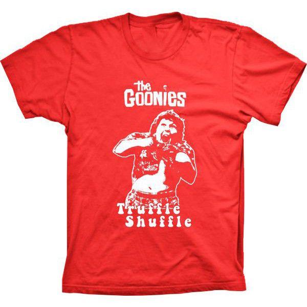 Camiseta The Goonies Truffle Shuffle
