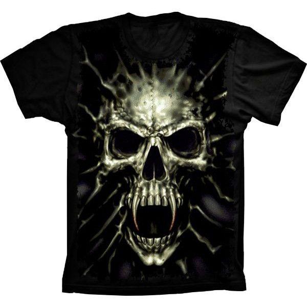 Camiseta Skull Vampiro
