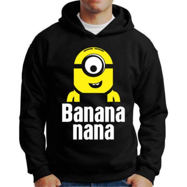 Moletom Minions Banana