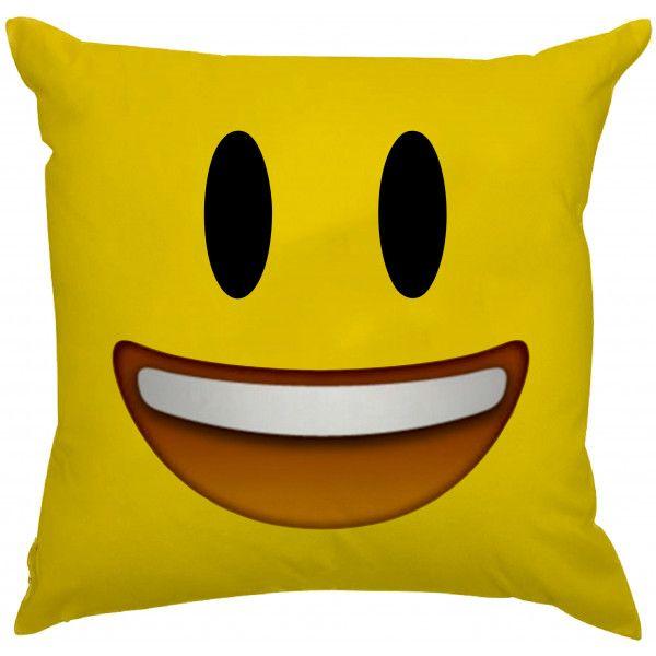 Almofada Emoji Sorrindo Feliz =D