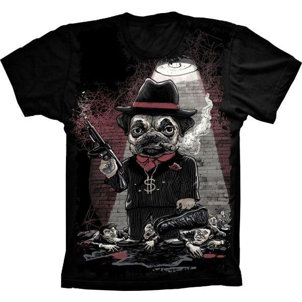 Camiseta Bulldog Gangster