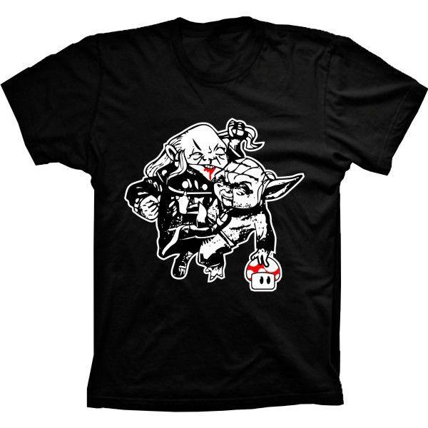 Camiseta Yoda X Mestre Dos Magos