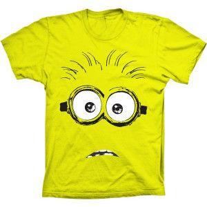 Camiseta Minions Óculos