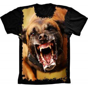 Camiseta Cachorro Bravo