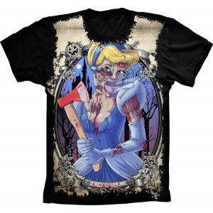 Camiseta Cinderela Zumbi