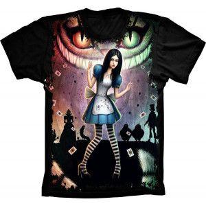 Camiseta Alice no Pais das Maravilhas