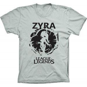 Camiseta League Of Legends Zyra