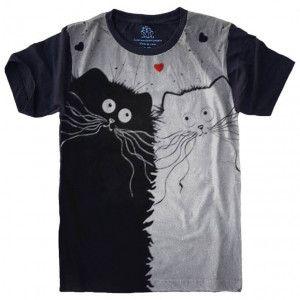 Camiseta Gato Cat S-470
