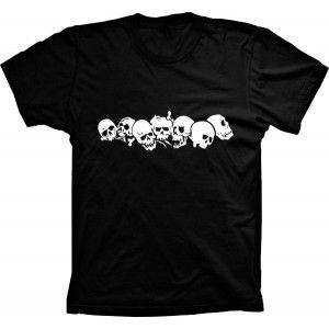 Camiseta Caveiras Skulls