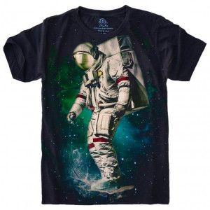 Camiseta Astronauta Skate S-454