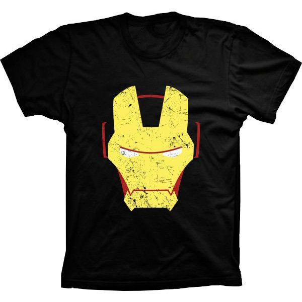 Camiseta Homem de Ferro Iron