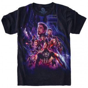 Camiseta Vingadores Avengers Marvel S-496