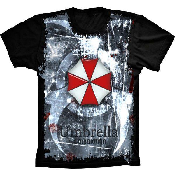 Camiseta Resident Evil Umbrella Corporation