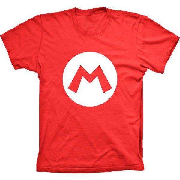 Camiseta Super Mario M