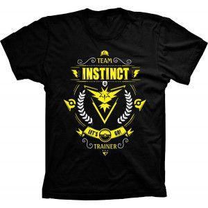 Camiseta Pokémon Go Team Instinct