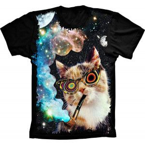 Camiseta Crazy Cat