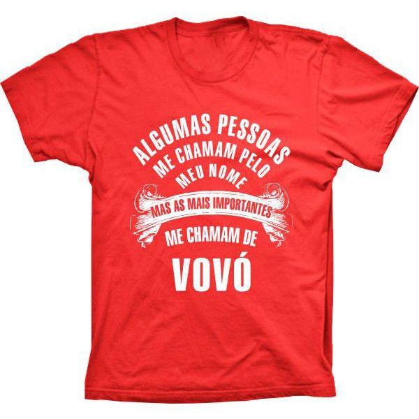 Camiseta Pessoas importantes Me Chamam de Vovó