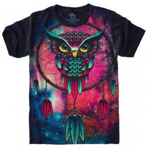 Camiseta Coruja Psy S-433