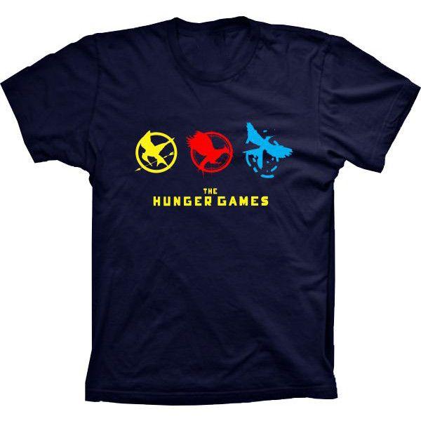 Camiseta Jogos Vorazes The Hunger Games