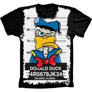 Camiseta Pato Donald Thug Life S-185
