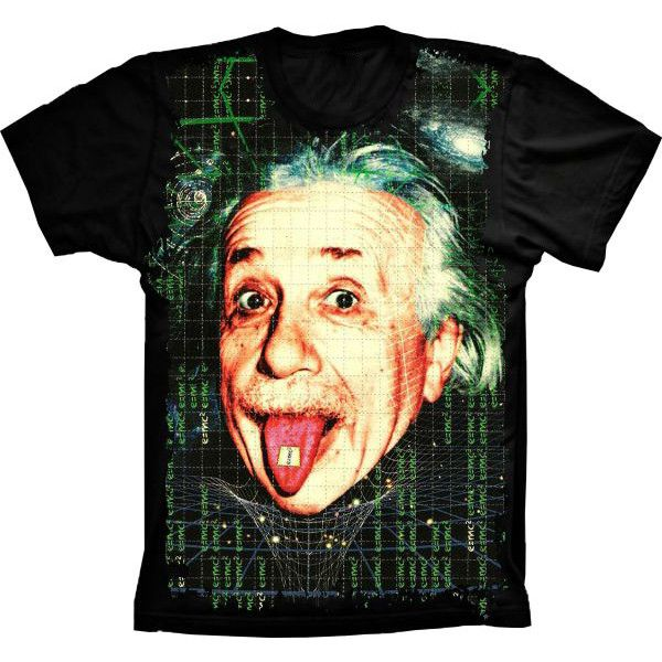 Camiseta Einstein Alucinógeno