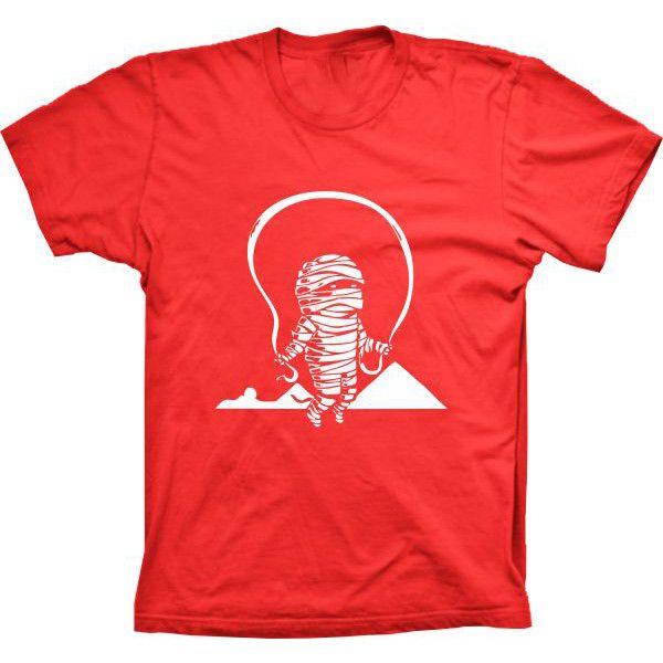 Camiseta Mumia Pulando Corda