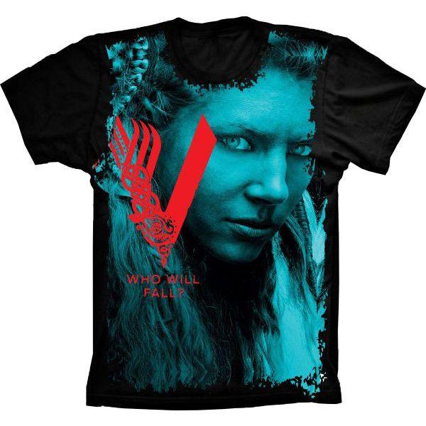 Camiseta Vikings who will fall