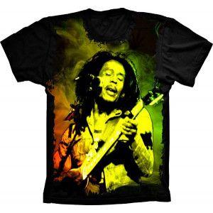 Camiseta Bob Marley