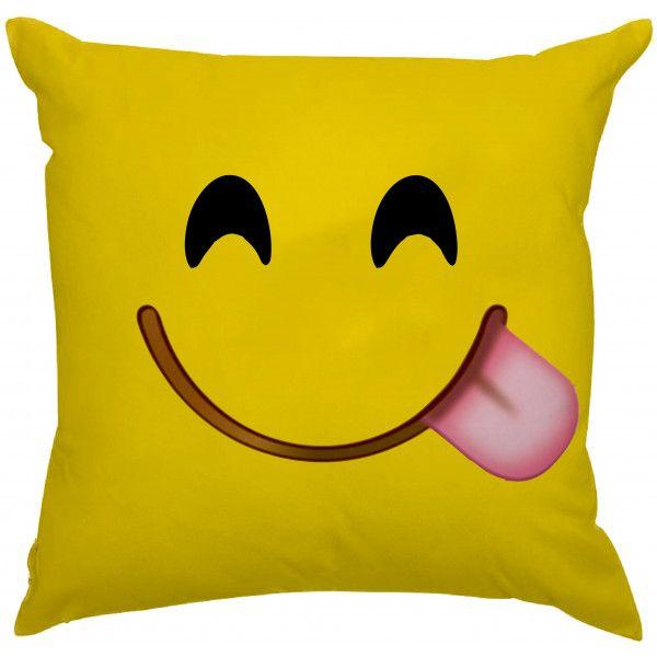 Almofada Emoji Mostrando a Língua :P