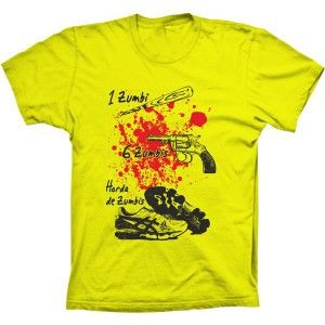 Camiseta Armas Para Combater Zumbis