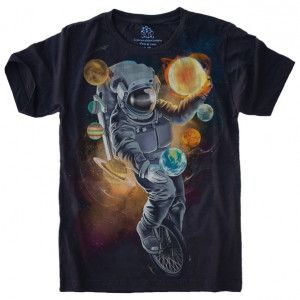 Camiseta Astronauta Malabarista S-423